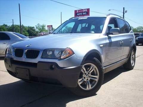 2005 BMW X3 for sale in Arlington, TX