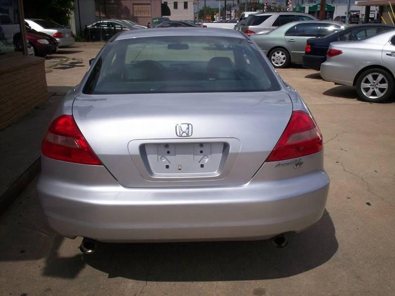 2003 Honda Accord EX V-6 2dr Coupe w/Navi - Arlington TX