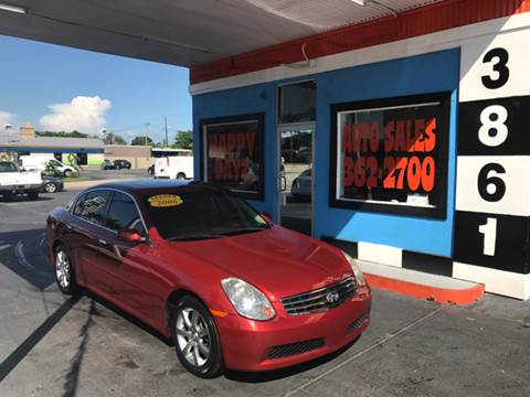 2006 Infiniti G35 for sale in Fort Myers, FL