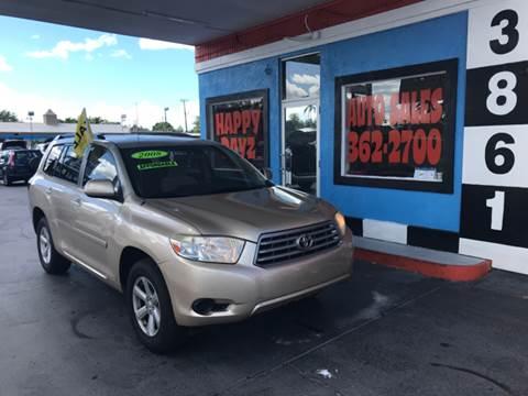 2008 Toyota Highlander for sale in Fort Myers, FL