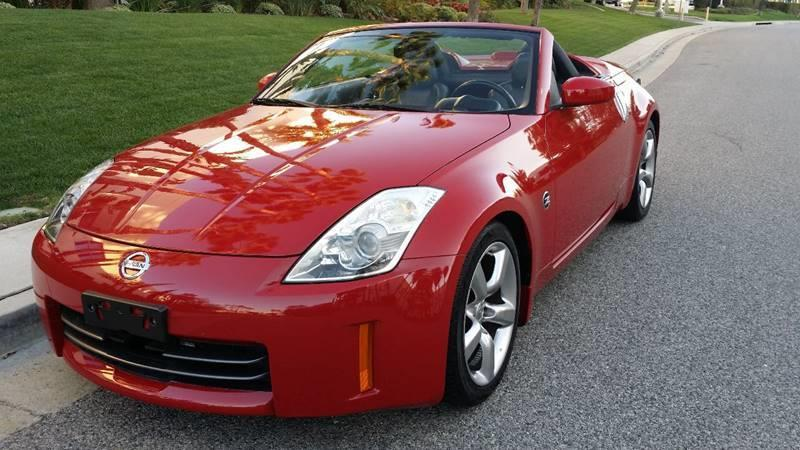 2006 Nissan 350z Touring 2dr Convertible 35l V6 5a In Van Nuys Ca