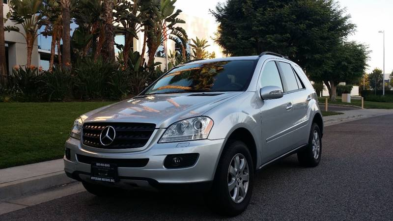 2006 Mercedes Benz M Class AWD ML 350 4MATIC 4dr SUV   Van Nuys