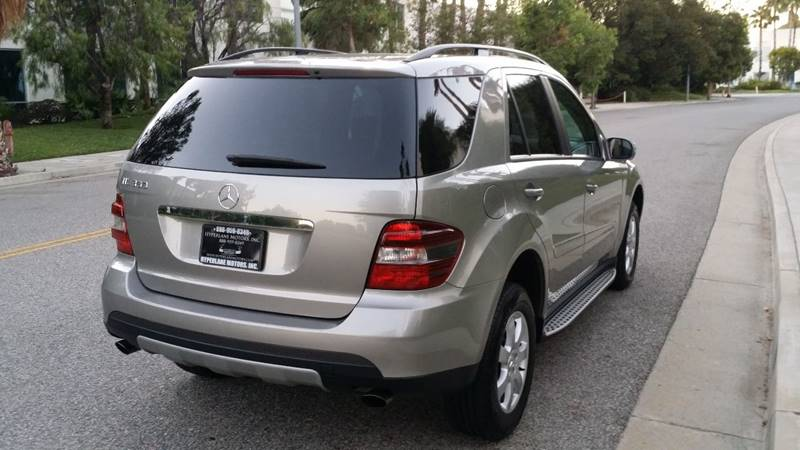 2006 Mercedes Benz M Class Ml350 Awd 4matic 4dr Suv In Van Nuys Ca