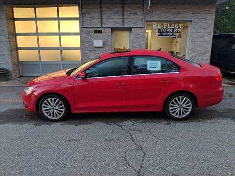 2013 Volkswagen Jetta for sale at Re-Fleet llc in Towaco NJ