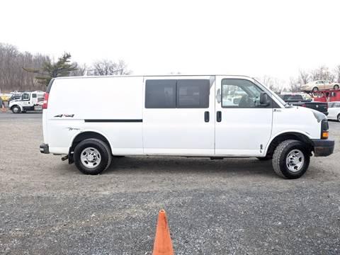 2007 Chevrolet Express Cargo 3500 QUIGLEY 4x4 for sale at Re-Fleet llc in Towaco NJ