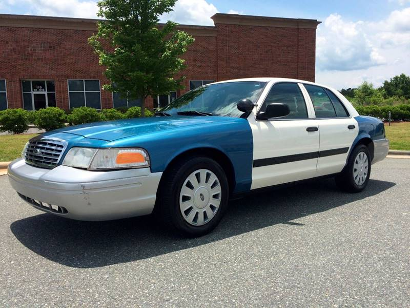 2010 Ford Crown Victoria Police Interceptor 4dr Sedan (3.55 Axle) - Mooresville NC