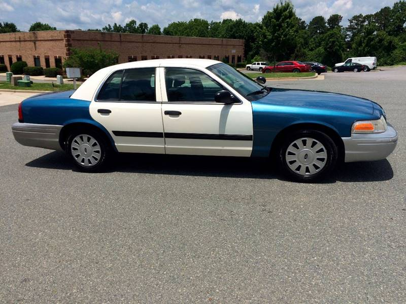 2010 Ford Crown Victoria Police Interceptor 4dr Sedan (3.55 Axle) - Statesville NC