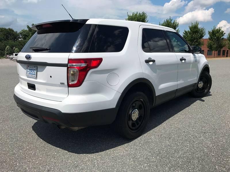 2013 Ford Explorer AWD Police Interceptor 4dr SUV - Statesville NC
