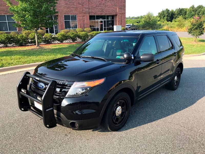 2013 Ford Explorer Awd Police Interceptor 4dr Suv In