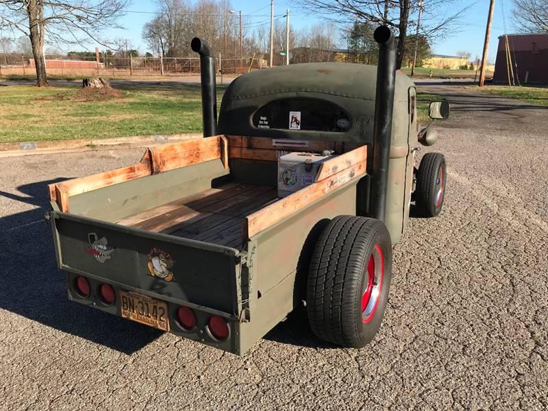 1956 White Truck Rat Rod In Statesville NC - MACC