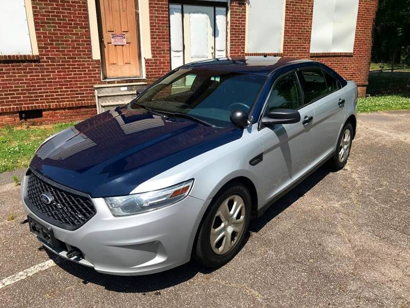 2013 Ford Taurus Awd Police Interceptor 4dr Sedan In Statesville