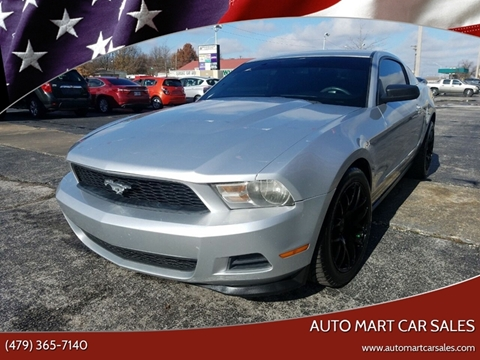 2012 Ford Mustang for sale in Springdale, AR