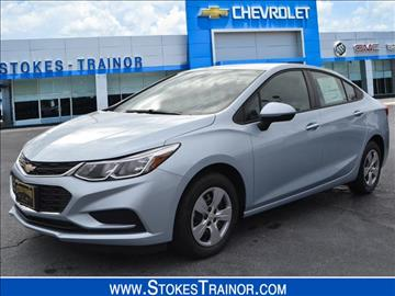 2017 Chevrolet Cruze for sale in Newberry, SC