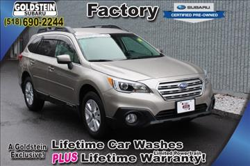 2016 Subaru Outback for sale in Albany, NY