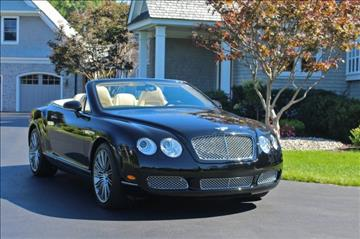 2007 Bentley Continental GTC for sale in Latham, NY