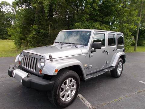2013 Jeep Wrangler Unlimited for sale at Carolina Auto Sales in Trinity NC