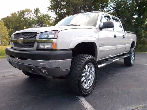 2004 Chevrolet Silverado 2500HD for sale at Carolina Auto Sales in Trinity NC