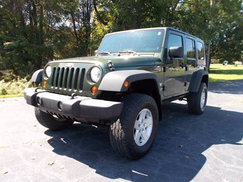 2009 Jeep Wrangler Unlimited for sale at Carolina Auto Sales in Trinity NC