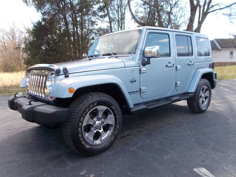 2012 jeep wrangler unlimited 4x4 arctic 4dr suv in trinity nc