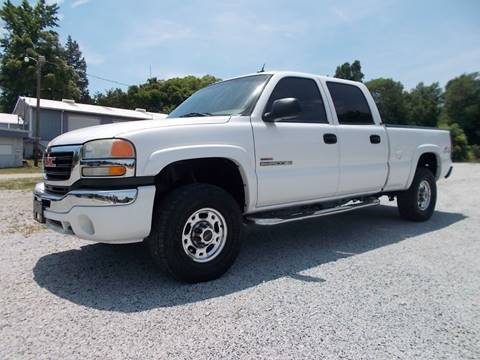 2005 GMC Sierra 2500HD for sale at Carolina Auto Sales in Trinity NC
