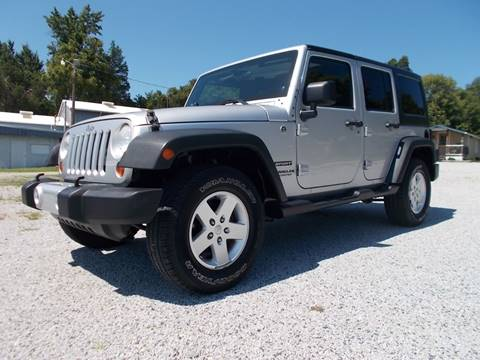 2012 Jeep Wrangler Unlimited for sale at Carolina Auto Sales in Trinity NC