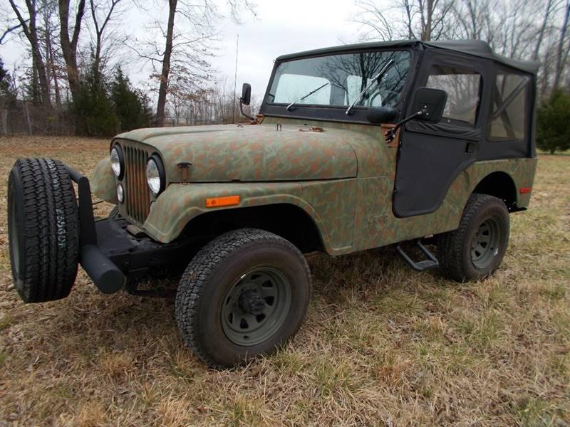 1974 Jeep CJ-5 for sale at Carolina Auto Sales in Trinity NC