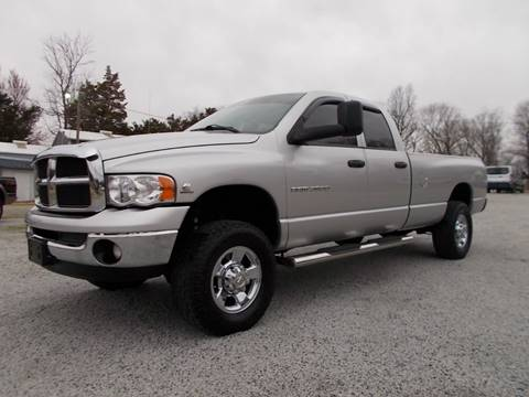 2004 Dodge Ram Pickup 2500 for sale at Carolina Auto Sales in Trinity NC