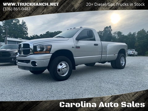 2007 Dodge Ram Pickup 3500 for sale in Trinity, NC