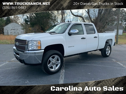 2011 Chevrolet Silverado 2500HD for sale at Carolina Auto Sales in Trinity NC