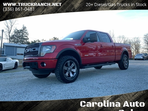 2011 Ford F-150 for sale at Carolina Auto Sales in Trinity NC