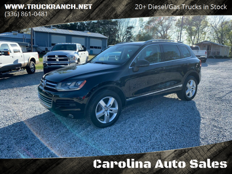 2012 Volkswagen Touareg for sale at Carolina Auto Sales in Trinity NC