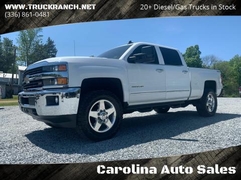 2015 Chevrolet Silverado 2500HD for sale at Carolina Auto Sales in Trinity NC