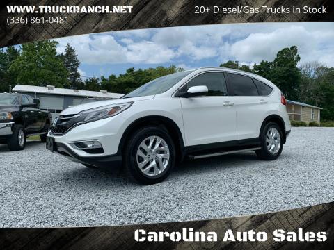 2015 Honda CR-V for sale at Carolina Auto Sales in Trinity NC