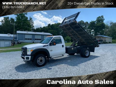 2012 Ford F-550 Super Duty for sale at Carolina Auto Sales in Trinity NC