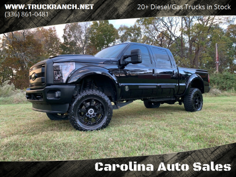 2016 Ford F-250 Super Duty for sale at Carolina Auto Sales in Trinity NC