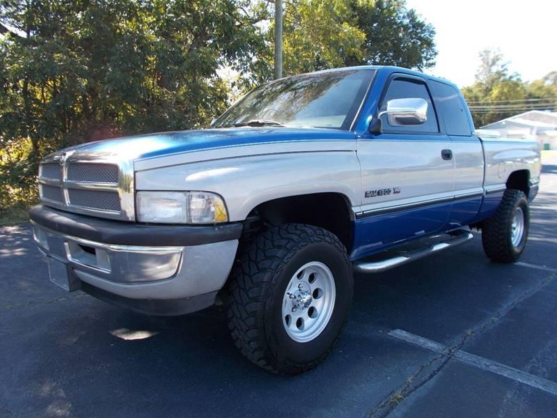 1997 Dodge Ram Pickup 1500 for sale at Carolina Auto Sales in Trinity NC