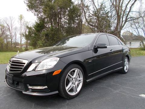 2012 Mercedes-Benz E-Class for sale at Carolina Auto Sales in Trinity NC