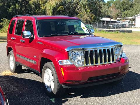 2012 Jeep Liberty for sale in Fanning Springs, FL