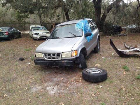 2000 PARTS ONLY - KIA SPORTAGE -YOU PULL for sale in Fanning Springs, FL