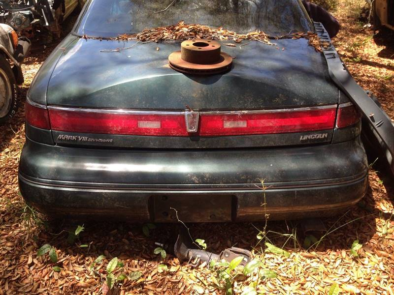 1996 parts only lincoln mark viii you pull in fanning - Lincoln mark viii interior parts ...