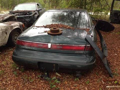 1996 PARTS ONLY - Lincoln Mark VIII - YOU PULL for sale in Fanning Springs, FL