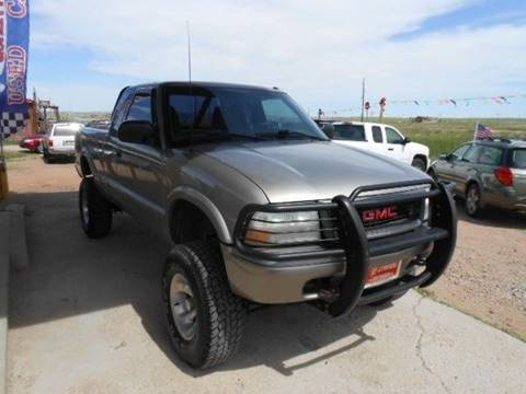 2002 GMC Sonoma for sale in Peyton, CO