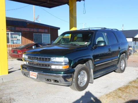 2002 Chevrolet Tahoe for sale in Peyton, CO