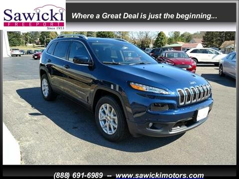 2018 Jeep Cherokee for sale in Freeport, IL