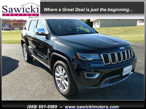 2017 Jeep Grand Cherokee for sale in Freeport, IL