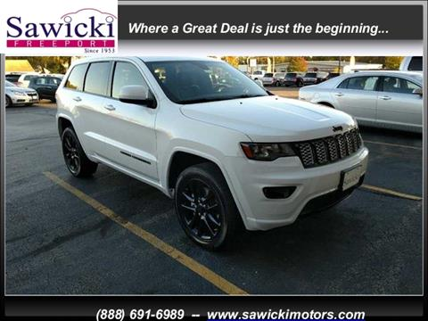 2018 Jeep Grand Cherokee for sale in Freeport, IL
