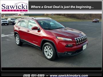 2017 Jeep Cherokee for sale in Freeport, IL