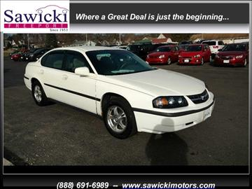 2004 Chevrolet Impala for sale in Freeport, IL