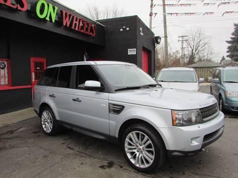 2010 Land Rover Range Rover Sport for sale in Detroit MI