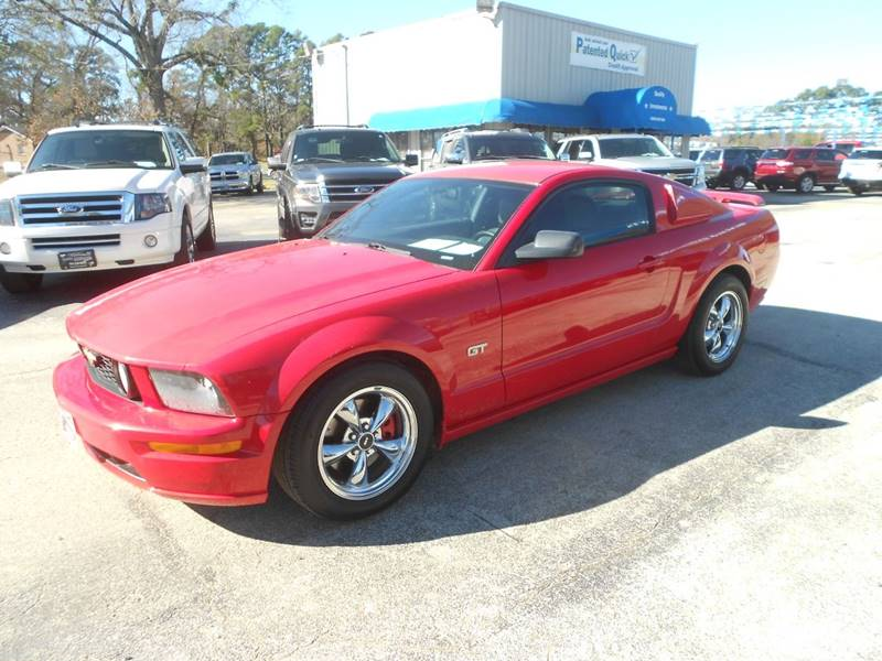 Ford Mustang Gt Premium Dr Fastback Tyler Tx